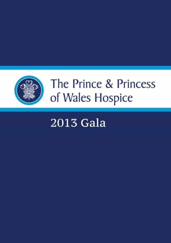 PRINCE & PRINCESS OF WALES HOSPICE 2013